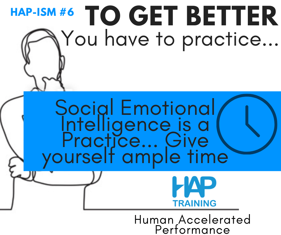 The 3 Foundations of Intentional Practice: 2. Give Yourself Ample Time